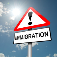 The Immigration sign