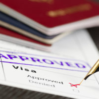 Forms for visa application