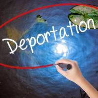 The Deportation globe